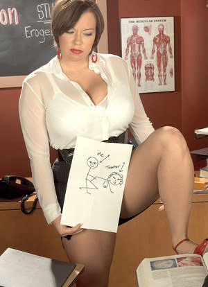 Sexy Nude Teacher Boobs
