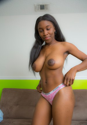 Sexy Nude Big Black Boobs