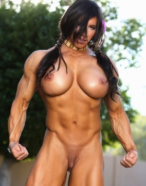Sexy Nude Bodybuilder Boobs