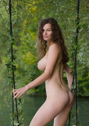 Sexy Nude Outdoor Boobs