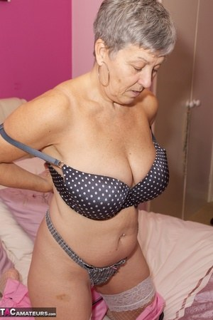 Sexy Nude Granny Boobs