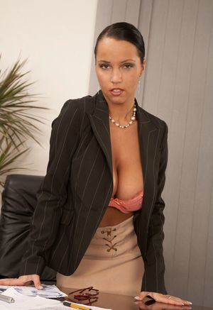Sexy Nude Office Boobs